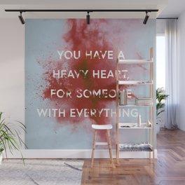 NIGHTWALKER | Heavy Heart Wall Mural