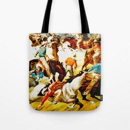 Vintage Wild West Show Poster Tote Bag