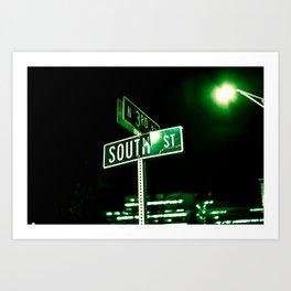 South St. Art Print