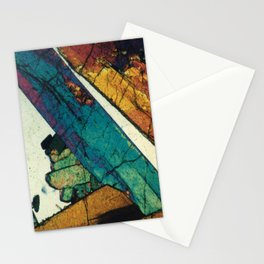 Epidote in Quartz Stationery Cards