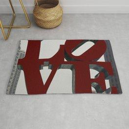 Love Philadelphia Sculpture Rug