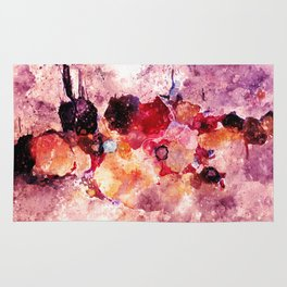 Colorful Minimalist Art / Abstract Painting Rug