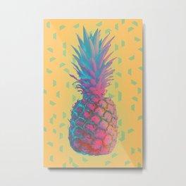 Pine-crazy-apple Metal Print