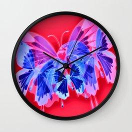 Cabsink16DesignerPatternBRS Wall Clock