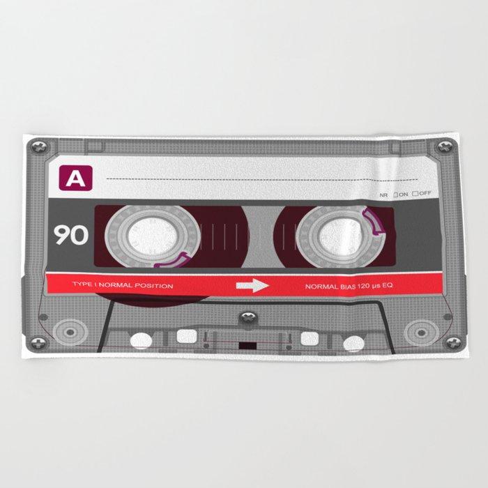 K7 cassette 6 bis Beach Towel