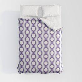 Retro-Delight - Conjoined Circles - Lavender Comforters