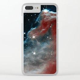 Horsehead Nebula Clear iPhone Case