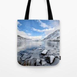 Broken Ice Tote Bag