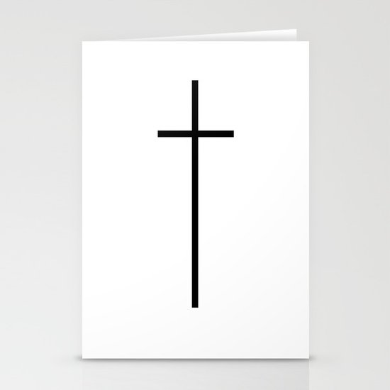 CROSSES (WHITE) Stationery Cards