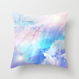 The Angel's Dream Throw Pillow