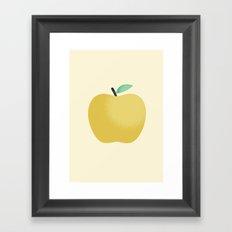 Apple 22 Framed Art Print