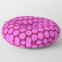 Pink Circus Dots Floor Pillow
