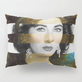 "Leonardo Da Vinci's ""Portrait of Ginevra Benci"" & Elizabeth Taylor Pillow Sham"