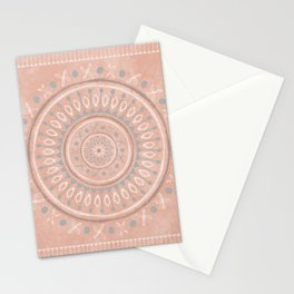 """""""Astral Lullaby"""" in Pink Stationery Cards"""