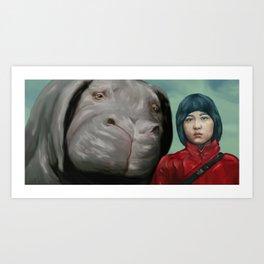 OKJA Art Print
