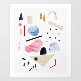 toy piano Art Print