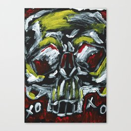 From a skull with love XOXO Canvas Print