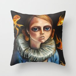 'High Diver' by Zelyss Throw Pillow