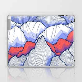The Ice White Rocks Laptop & iPad Skin