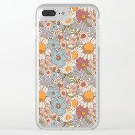Garden bouquet Clear iPhone Case