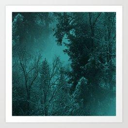 Fantasy Forest..... Art Print