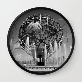 A Dramatic Summer Afternoon in Queens Wall Clock