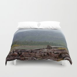 Avalanche Lake Duvet Cover