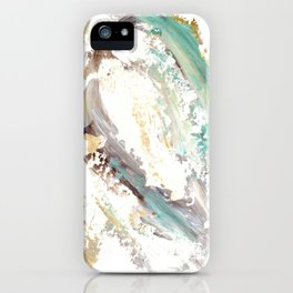 Landscape Abstract Painting V iPhone Case