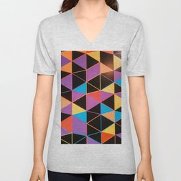 Colors and Forms Unisex V-Neck