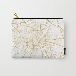 MUNICH GERMANY CITY STREET MAP ART Carry-All Pouch