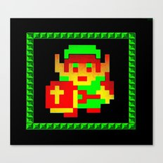 The Legend of Zelda (Link with Shield) Canvas Print