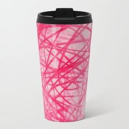 Ophelia Pink Travel Mug