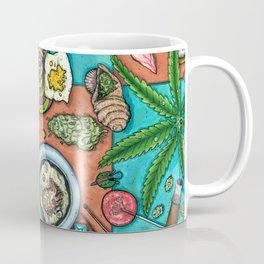 Ocean Grown : Cannabis Altar III Coffee Mug