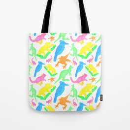 Beautiful Bright Australian Native Animals Tote Bag