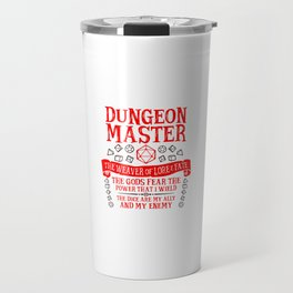 Dungeon Master Travel Mug