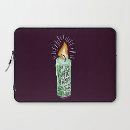 Let your light shine - MATTHEW 5:6 Laptop Sleeve