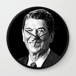 President Ronald Reagan Graphic Wall Clock