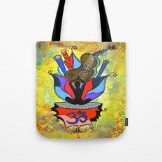 BLOOMING YOGA Tote Bag