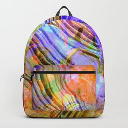 abstract crystal x Backpack