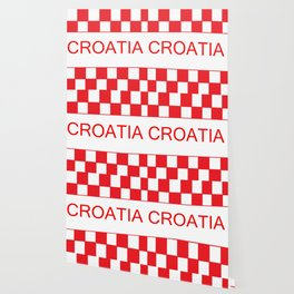 Red chess board Croatia Wallpaper