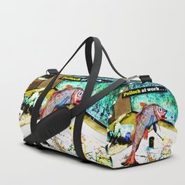 Pollock at Work Duffle Bag