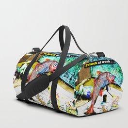 Pollock at Work Duffle Bag