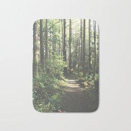 Old Forest Path Bath Mat