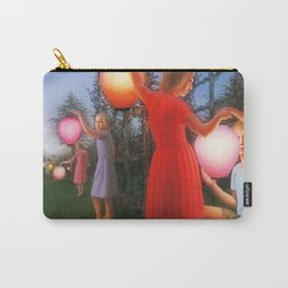 Classical Magic Realism Masterpiece 'Garden Party' by George Tooker Carry-All Pouch