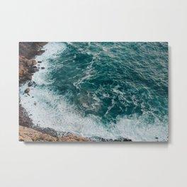 Strong tide Metal Print