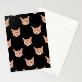 Kiki, the pretty blind cat Stationery Cards