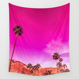Palm Springs Rush Hour Wall Tapestry
