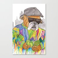 notorious Canvas Prints featuring Notorious by Jake Franssen