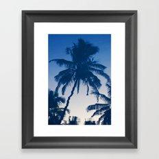 Palm Reflected Framed Art Print