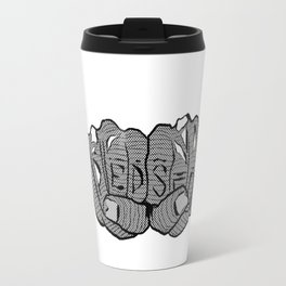Big Horns Up Travel Mug